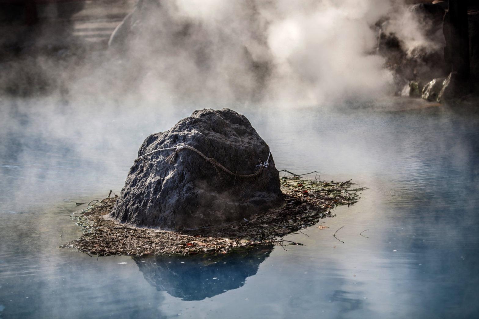 geothermal heating spa