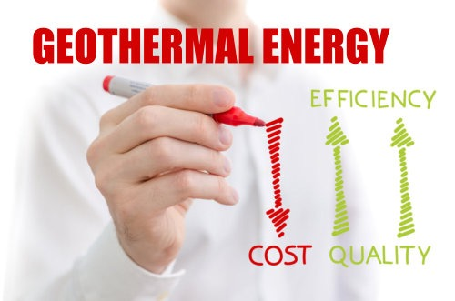 geothermal energy costs down better efficiency