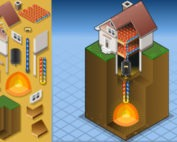 geothermal heating & cooling with dirt featured image